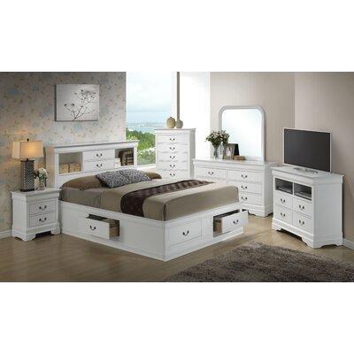 Corbeil Storage Platform Customizable Bedroom Set
