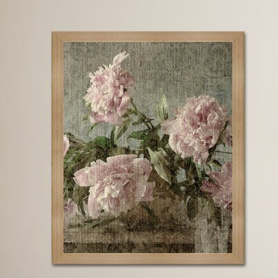 'My Flower Love ' Framed Graphic Art