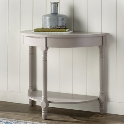 Camara Console Table Finish: Shady White