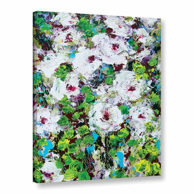Longmont Garden Framed Painting Print on Wrapped Canvas