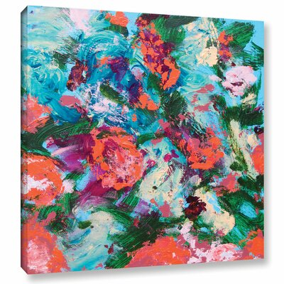 Luxemburg Garden Painting Print on Wrapped Canvas Size: 10