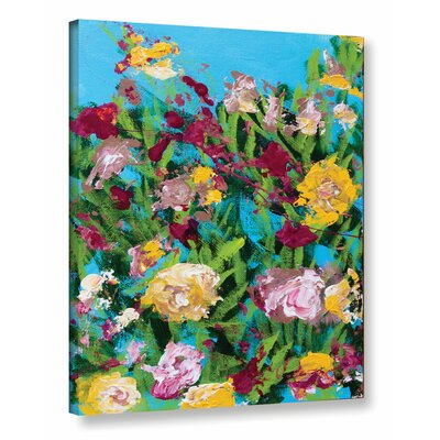 Majorelle Garden Painting Print on Wrapped Canvas
