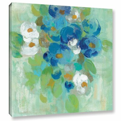 Spring Aroma II White Painting Print on Wrapped Canvas Size: 10