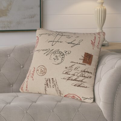 Procter Linen Throw Pillow Size: 18 H x 18 W