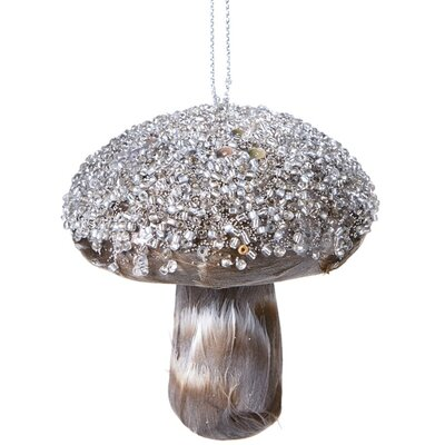 Feather Mushroom Ornament