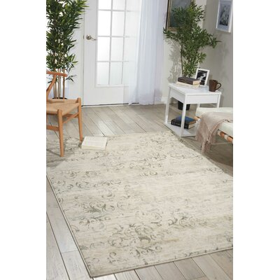 Culver Bone Area Rug Rug Size: Rectangle 53 x 73