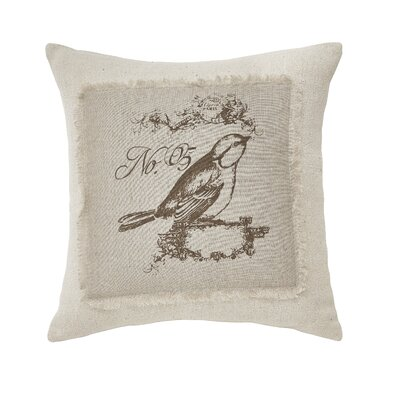 Buglosse Cotton Throw Pillow