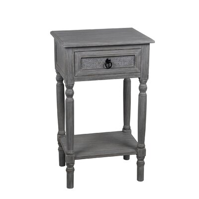Margot 1 Drawer End Table