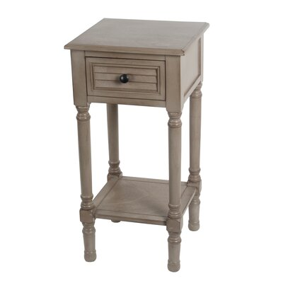 Marwan 1 Drawer End Table