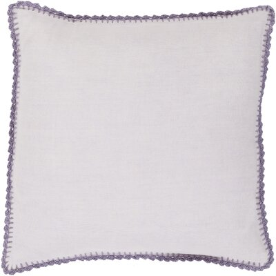 Nyles 100% Linen Throw Pillow Cover Size: 18 H x 18 W x 0.25 D