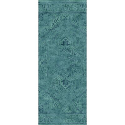 Meline Wool Turquiose Area Rug Rug Size: Rectangle 67 x 92