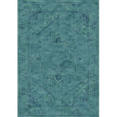 Meline Blue Area Rug Rug Size: 67 x 92