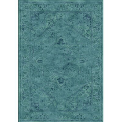 Meline Blue Area Rug Rug Size: 810 x 122