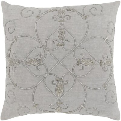 Pensee Throw Pillow Color: Gray