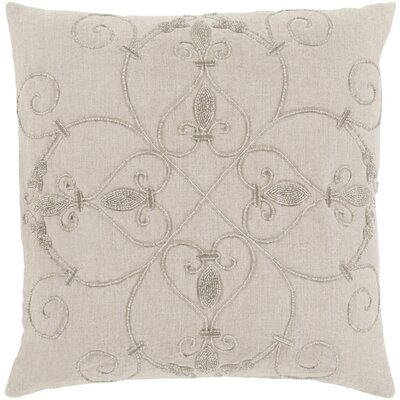 Pensee Throw Pillow Color: Light Gray