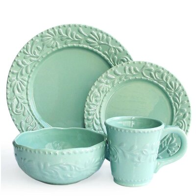 Amandine 16 Piece Dinnerware Set