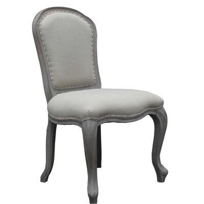 Capucine Side Chair (Set of 2) Finish: Gray
