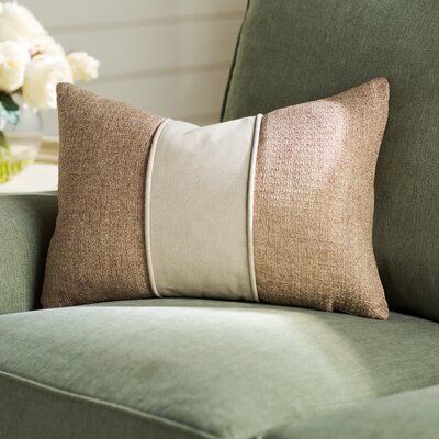 Lark Manor Vivier Piecework Lumbar Pillow