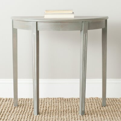 Tussilage  Jethro  Console Table Color: French Gray