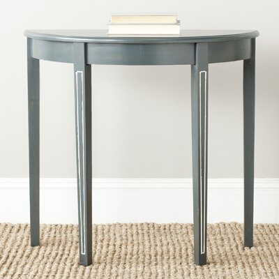 Tussilage  Jethro  Console Table Color: Steel Teal