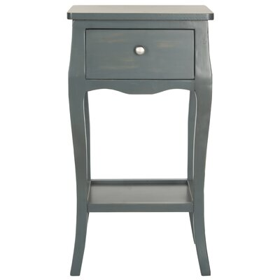 Tussilage End Table Finish: Steel Teal