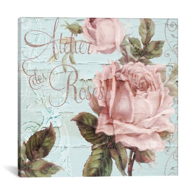 Atelier De Roses Graphic Art on Wrapped Canvas