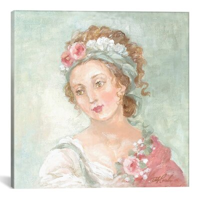 Angelique Painting Print on Wrapped Canvas