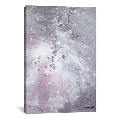 Autumn Dance Painting Print on Wrapped Canvas