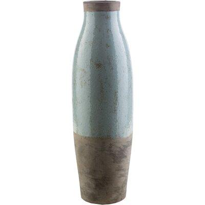 Evry Cylinder Ceramic Floor Vase