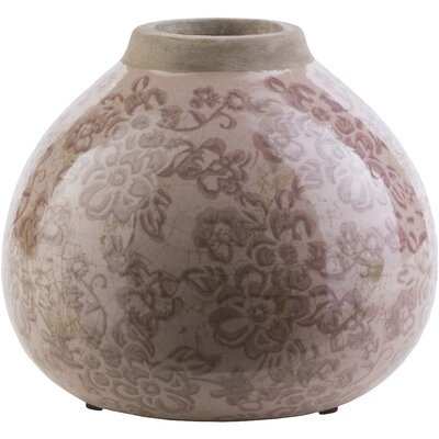 Evry Bud Taupe Ceramic Table Vase