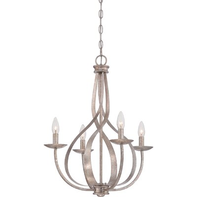 Emely 4-Light Candle-Style Chandelier