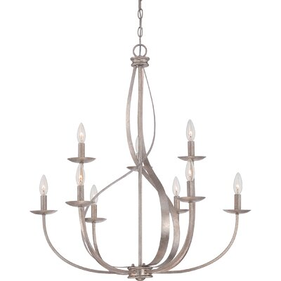 Emely 9-Light Candle-Style Chandelier