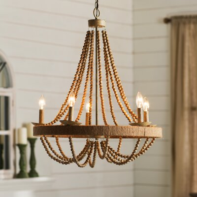 Tremiere 5-Light Candle-Style Chandelier