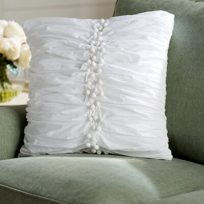 Lilia Cotton Voile Throw Pillow