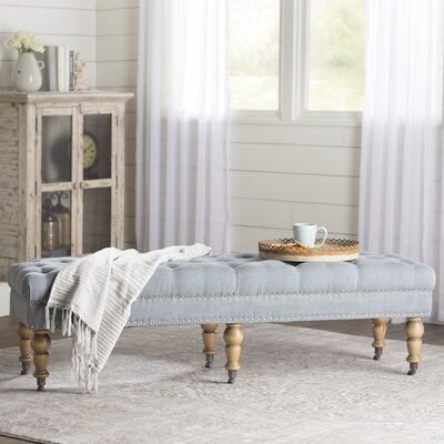 Amber Tufted Bench