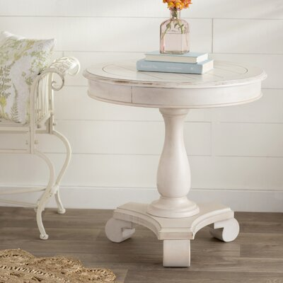 Bezons End Table Finish: White