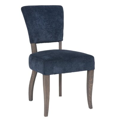 Estella Side Chair Upholstery: Slate