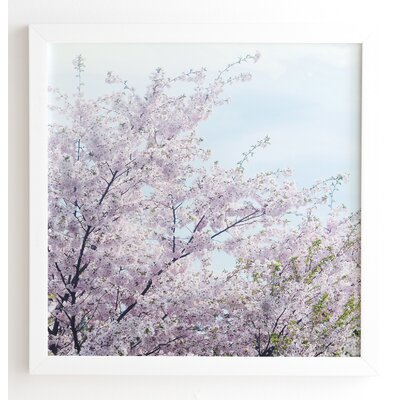 'Awakening' by Chelsea Victoria Framed Photographic Print Frame Color: White, Size: 30