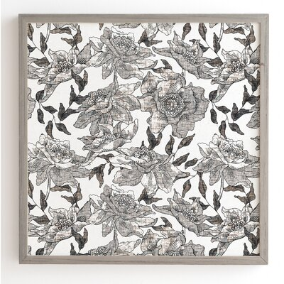 'Summertime Natural' by Holli Zollinger Framed Graphic Art Frame Color: Grey, Size: 12