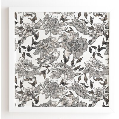 'Summertime Natural' by Holli Zollinger Framed Graphic Art Size: 12
