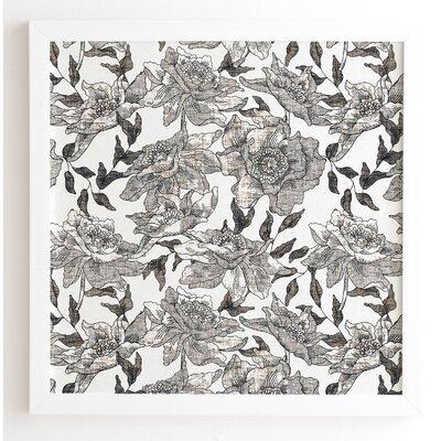 'Summertime Natural' by Holli Zollinger Framed Graphic Art Frame Color: White, Size: 12