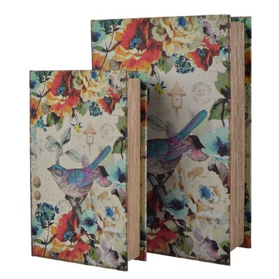 2 Piece Bird Book Box Set