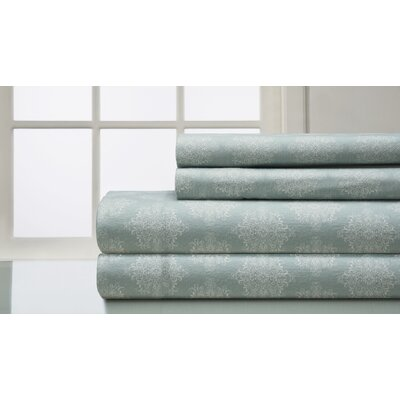 Beauville 160 Thread Count 100% Cotton Flannel Sheet Set Size: Full