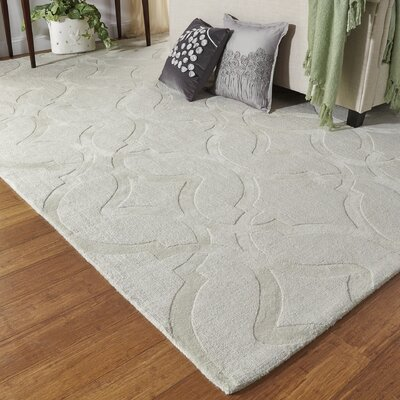 Frejus Hand-Loomed Shell Indoor/Outdoor Area Rug Rug Size: 36 x 56
