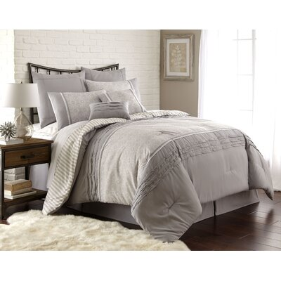 Musquee 8 Piece Comforter Set Size: King