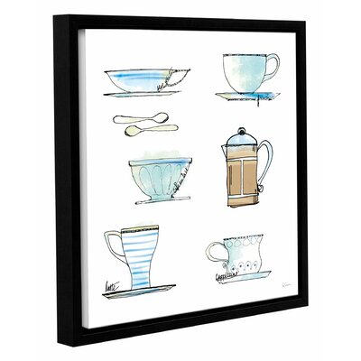 'Good Brew XI' Framed Painting Print on Wrapped Canvas