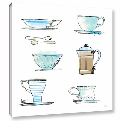 'Good Brew XI' Painting Print on Wrapped Canvas
