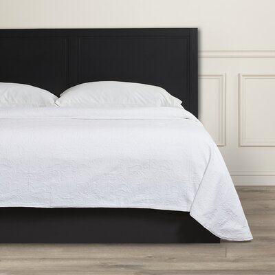 Andlau Bedspread Color: White, Size: Full