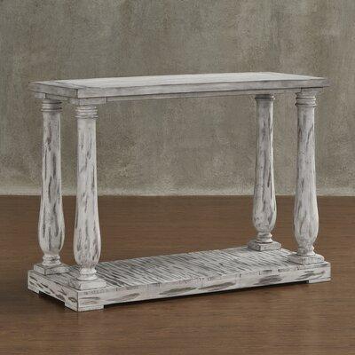 Airelle Console Table Color: Antique White