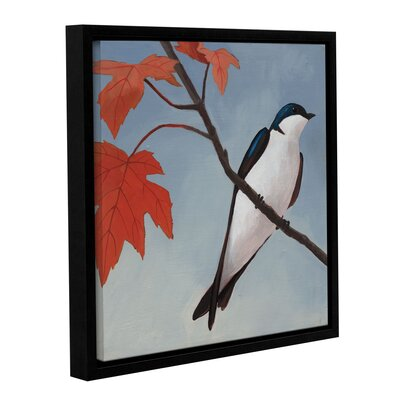 Autumn Tile I Framed Painting Print on Wrapped Canvas